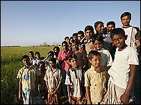 Villagers in Katakhali