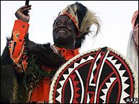 Kenyan opposition presidential candidate Raila Odinga