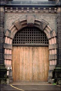 Gates of Wandsworth Prison