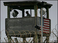 Watchtower at Guantanamo