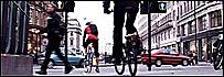 Ciclista londinense