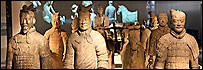 Guerreros de terracota en el Museo Británico