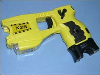 Taser gun