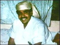 File pic of Guantanamo detainee Salim Ahmed Hamdan