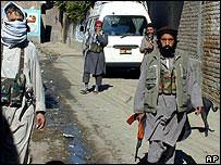 Taleban in Mingora