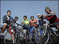Bikers in Bangalore