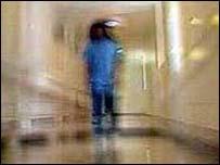 Inpatient on mental health ward