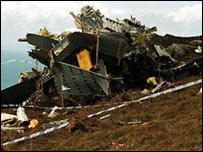 Chinook helicopter crash