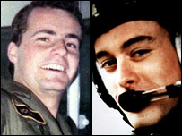 Flt Lts Richard Cook and Jonathan Tapper