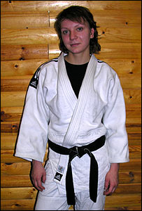 Maria Proskura, Russian judo-player