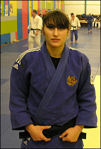 Narine Zaimtsyan, Russian judo-player