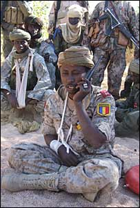 The head of Chadian Army, General Abdelkarim Bahar Mahamat Itno