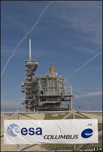 Space shuttle Atlantis. Image: Esa.