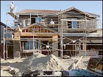 Construcci�n de una casa en California