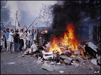 Riots in Ahmedabad, Gujarat in 2002