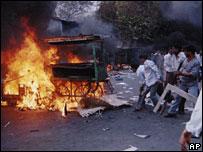 Riots in Ahmedabad, Gujarat in 2002