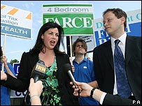 Kirstie Allsopp and Grant Shapps