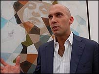 Bijan Khezri, chief executive, Artist Pension Trust