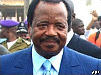 President Paul Biya
