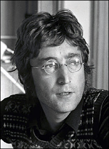 By Tom Hanley - John Lennon, Thoughtful