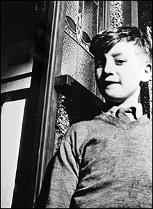 Image courtesy of Tom Hanley, John Lennon as a boy