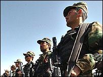 Afghan troops (file photo)