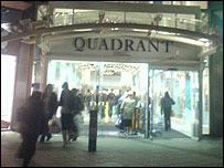 Quadrant shopping centre, Swansea