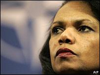 Condoleezza Rice Israel warning