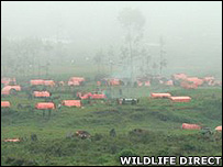Refugee camp (Image: Wildlife Direct)