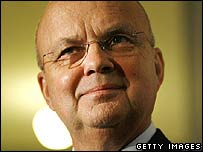 CIA chief General Michael Hayden (file image)