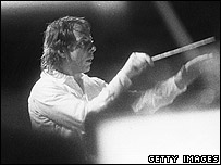 Stockhausen pictured in 1974