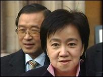 Kim Sing Man and Bee Lian Man