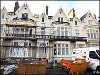 The former home of John Darwin in Seaton Carew