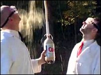 Mentos and Diet Coke experiment