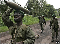 Government forces in North Kivu, 23 November 2007