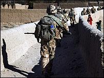 British troops in Afghanistan (Crown Copyright)