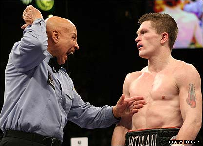The Hitman is deducted a point by Cortez