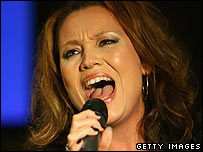 X Factor's Niki Evans