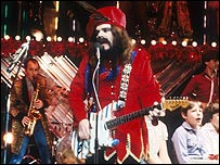 Wizzard on Top of the Pops, Christmas 1981