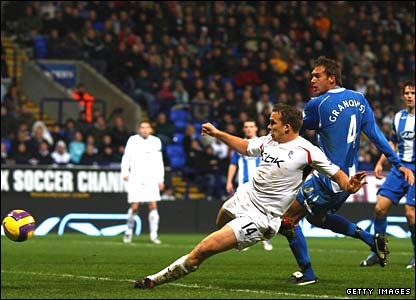 Kevin Davies scores for Bolton