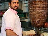 Shawarma restaurant, Damascus