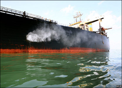 The Hebei Spirit oil tanker