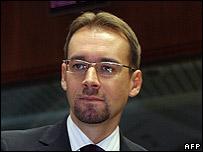 Romania's Justice Minister Tudor Chiuariu