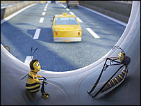 Scene from Bee Movie