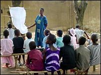 Escuela en Guinea
