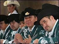 Grupo  K-Paz de la Sierra, cuyo vocalista fue asesinado.