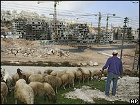 Har Homa settlement/Jabal Abu Ghneim