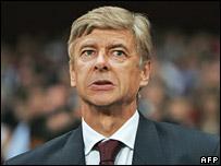 Arsenal manager Arsene Wenger (file photo)