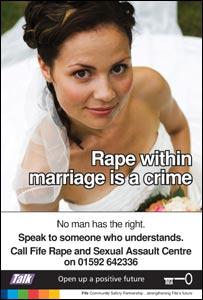 Rape poster