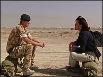 Jane Corbin spoke to Lance Corporal Kevin Bagling